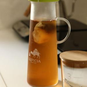 冷たいお茶にも活躍中 お気に入りの水筒