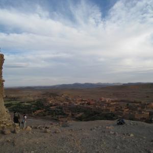 【2008年GW】ポルトガル・スペイン・モロッコ旅行(5日目)-朝起きたら異国の世界!モロッコっぽくなってきた!!‐
