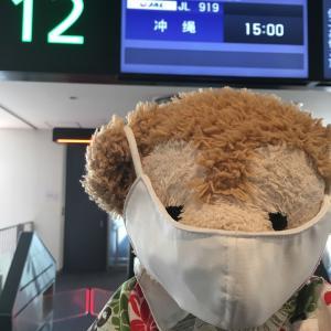 【2020年10月】沖縄旅行(1日目)-沖縄9日間の旅行スタート!初めての宜野湾ステイ!!‐