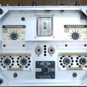 出力管差し替えPPアンプ配線準備