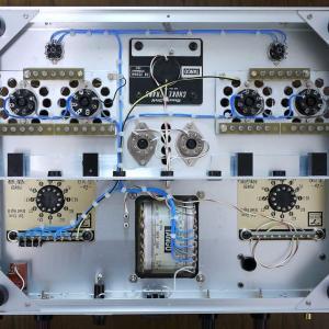 出力管差し替えPPアンプ進捗 12月8日