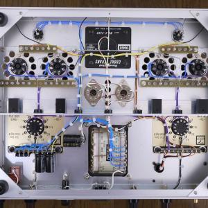 出力管差し替えPPアンプ進捗 12月12日