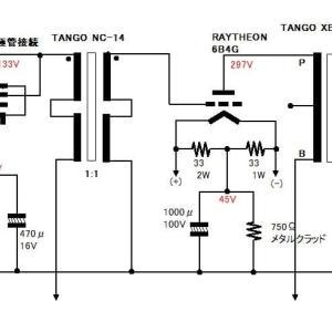 6B4Gシングルアンプ測定
