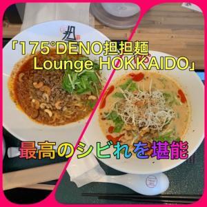 『175°DENO担々麺 Lounge HOKKAIDO』札幌清田区:担々麺に痺れ癒されランチ