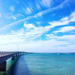 3,540mの長さを誇る伊良部大橋!日々変わる海の色を味わう、贅沢な道。