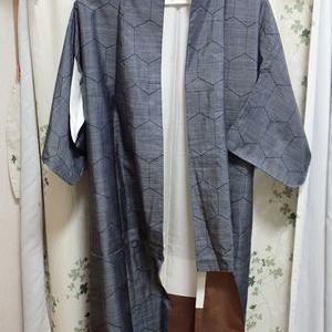 大島紬を解いて、洗濯、アイロン