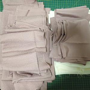 着物を解いて、洗濯、アイロン