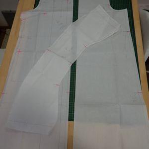 型紙を写す