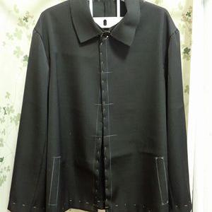 ジャケットの仮縫い