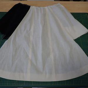 部分縫いの準備