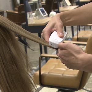 髪スキャン?? 髪の毛のダメージを瞬時に診断してくれる技術とは?