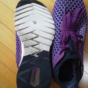 靴底の減り方でわかる体のゆがみ