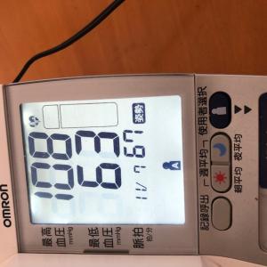 【血圧】最高が97とかすごいな!
