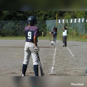 好きな野球、頑張れ!!