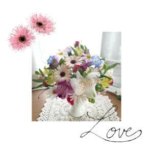 お値下げ品のお花だって愉しめます✿