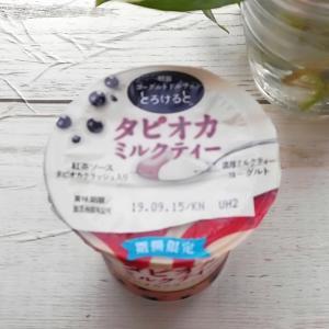 ヨーグルトドルチェ とろけると タピオカミルクティ― 新発売❣