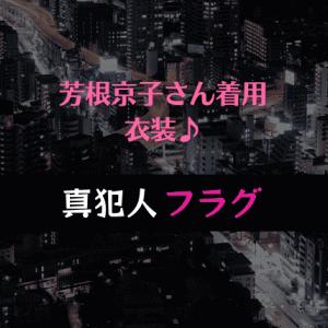 『真犯人フラグ』衣装【芳根京子さん着用】ブラウス/イヤーカフ