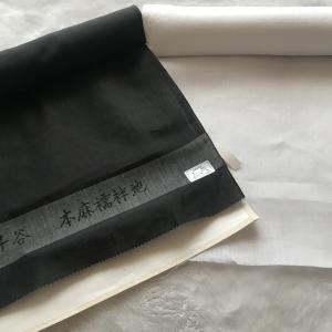 長襦袢を縫う