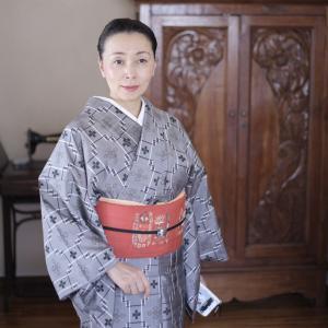 琉球紬でおでかけ