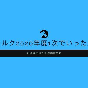 シルクホースクラブ2020年度1次でいった馬と出資(応募)理由