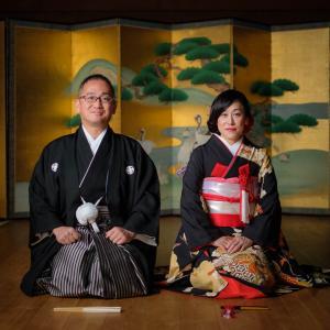 京都での和装前撮りロケーション撮影