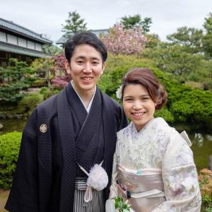 福井県 愛山荘での和装前撮り