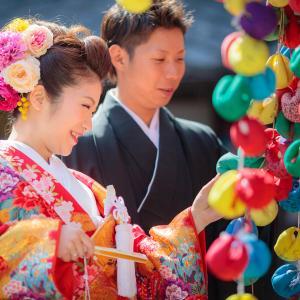 京都 八坂の塔周辺で和装前撮り
