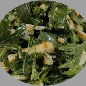 水菜とごぼうのサラダ