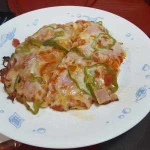 残りご飯で作るピザ