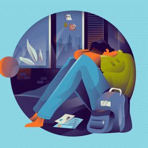 社会人一年目で辛いと感じた実体験5つ。入社1年目に辞めても転職に成功した方法と事例