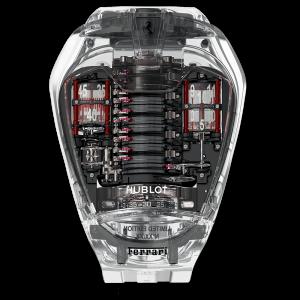 変態腕時計シリーズ④「HUBLOT  MP-05 ラ・フェラーリ サファイア」