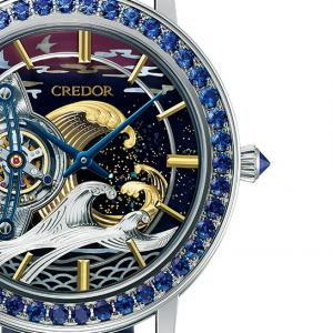変態腕時計シリーズ「Credor FUGAKU」