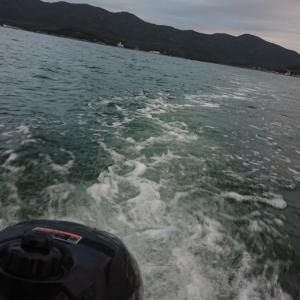 久しぶりにボート釣り
