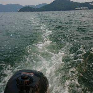 近場でボート釣り