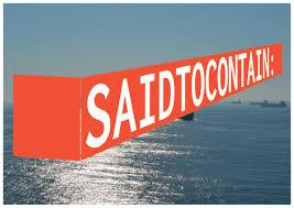 船荷証券(B/L)の「SAID TO CONTAIN」意味、重要性