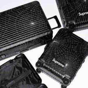 【11月16日11時発売】Supreme®/RIMOWA Cabin Plus 49.0L,Check-In 86.0L