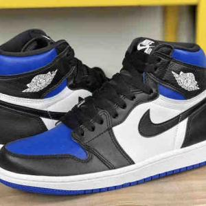 "【5月9日(土)発売予定】NIKE AIR JORDAN 1 HIGH OG ""GAME ROYAL BLACK"" $160"