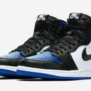 "【5月9日(土)発売】NIKE AIR JORDAN 1 HIGH OG ""GAME ROYAL BLACK"" ¥17,600"