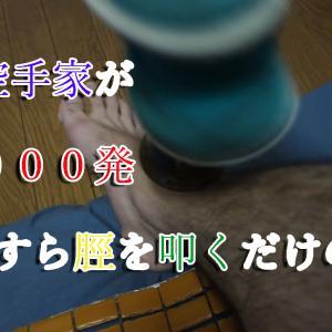 鍛錬実験開始、私の脛はムエタイみたくなるのか?
