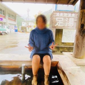足湯のある道の駅「十津川郷」