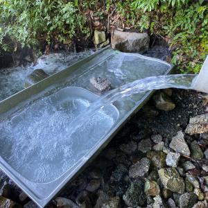 岩鼻温泉「ステンレス流し台の湯」