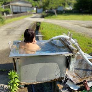 佐部の湯の谷温泉 「ステンレス浴槽の湯」