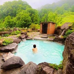 燕温泉 「黄金の湯」