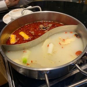 シンガポール3日目の夕ごはん〜火鍋ですかね、これ。