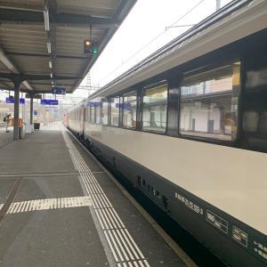 ジュネーヴ駅からジュネーヴ国際空港へ