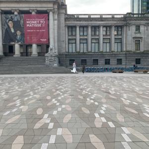 Vancouver Artgalleryで見かけたかっこいい撮影シーン