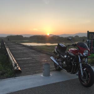 流れ橋〜水無瀬神宮