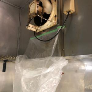 厨房フードと換気扇の清掃
