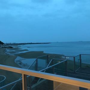 網干の干潟 7 新舞子浜の朝日に照らされた幻想的な干潟を観るぞ!