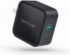 PD 充電器 RAVPower Type C 急速充電器 65W USB-A + USB-C RP-PC133